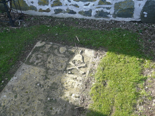 Tombstone at St. Mary's Chapel, Old Rattray.