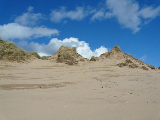 Dunes at Rattray Head.