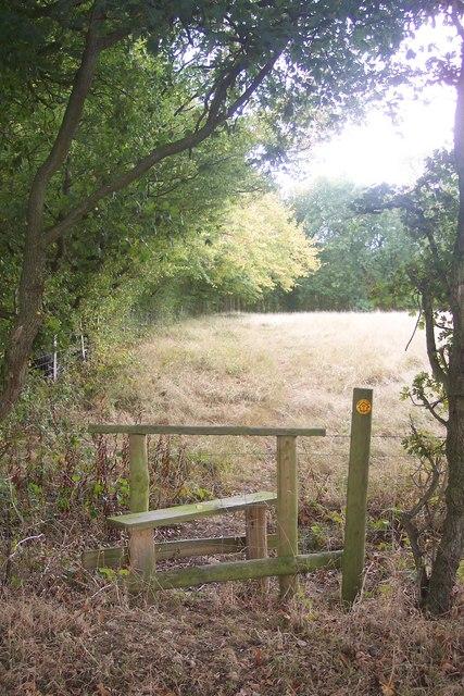 Stile near Questover Farm