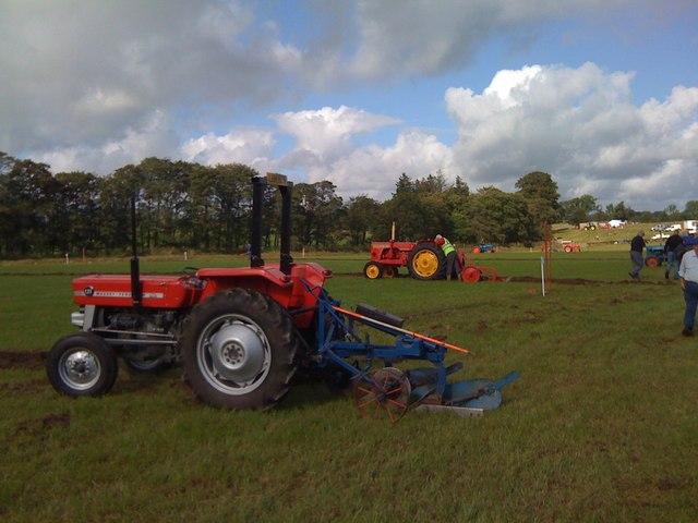 Ploughing Match at Ellisland Farm