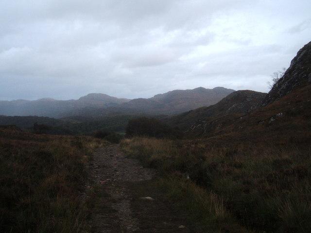 The path down to Shieldaig