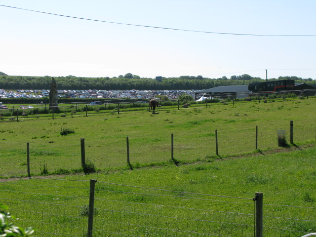 Paddocks and boot fair at Barville Farm