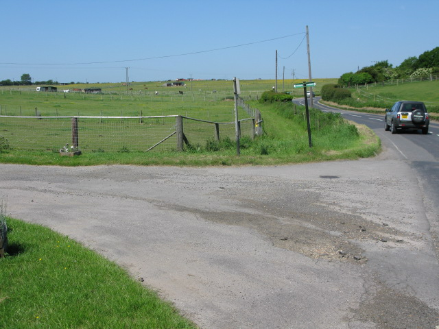 Entrance to Barville Farm from Barville Road
