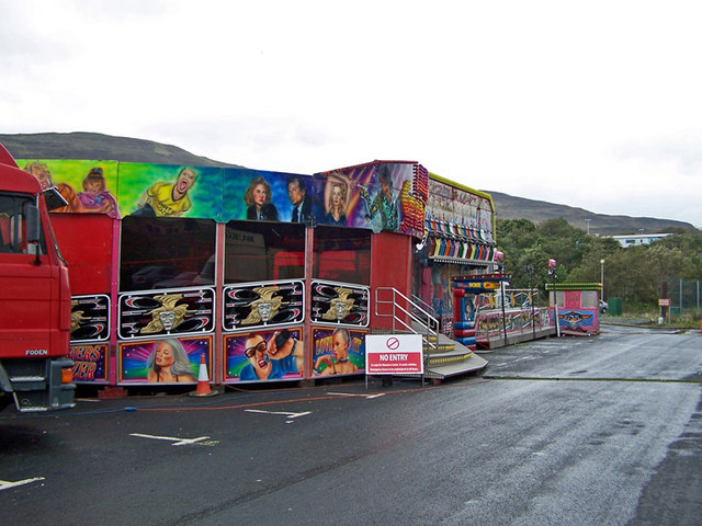 The funfair has arrived