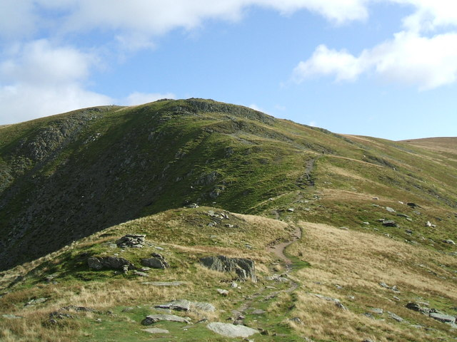The path to Harter Fell