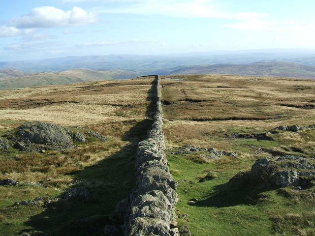 The wall, Kentmere Pike