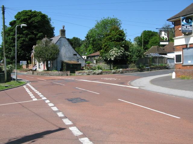 Crossroads on Wigmore Lane, Eythorne