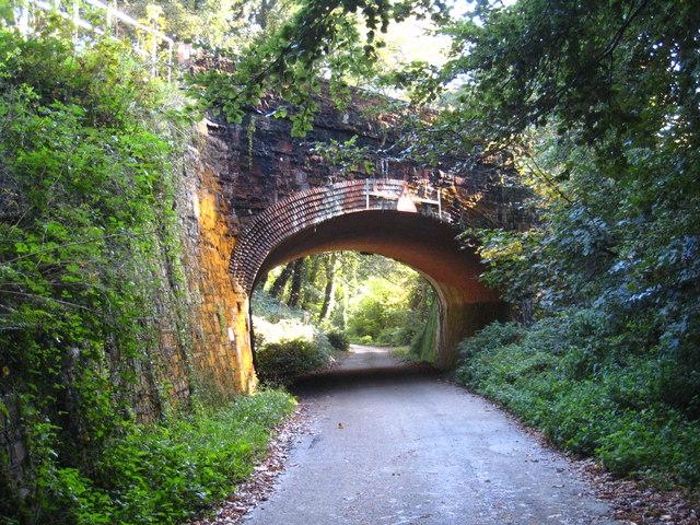 Railway bridge at Treworgans