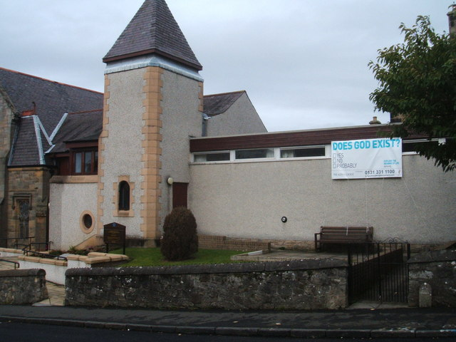 Alpha Course advertised on Church,Queensferry