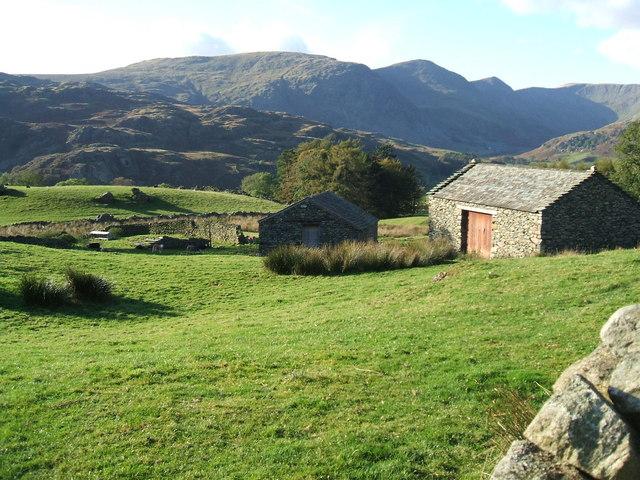 Farm buildings , Stile End