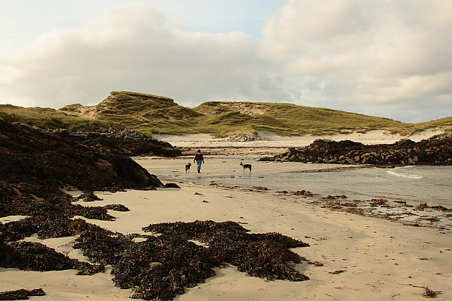 The Beach At Sidhean Rossinish