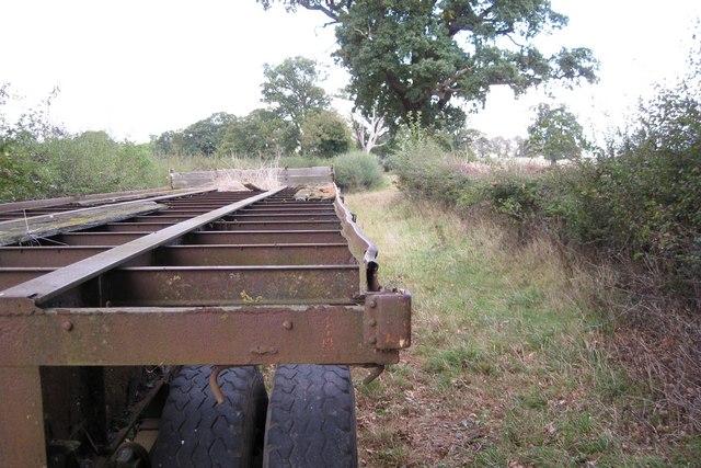 Track west of Hampton Lodge (2)