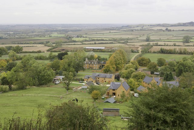 Arlescote from Edge Hill