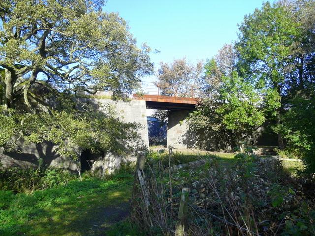 Old railway bridge.