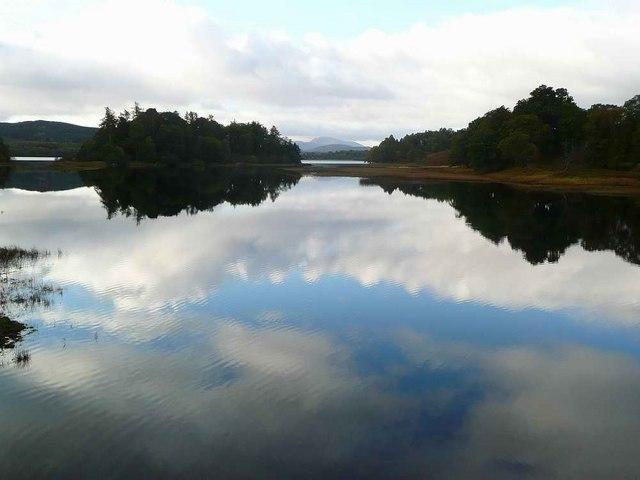The Spey at Loch Insh