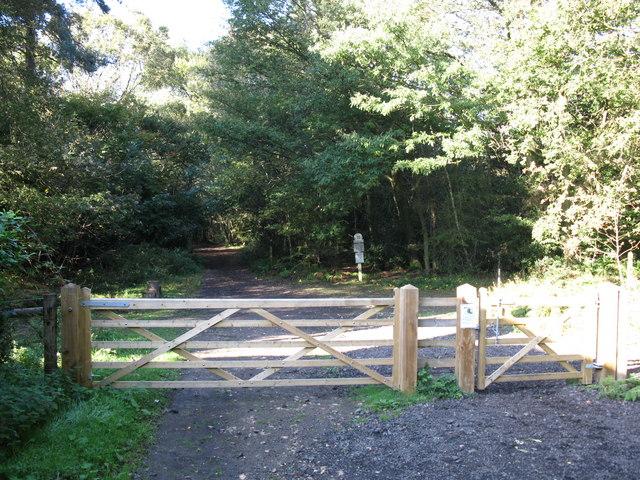 Entrance to Headley Heath