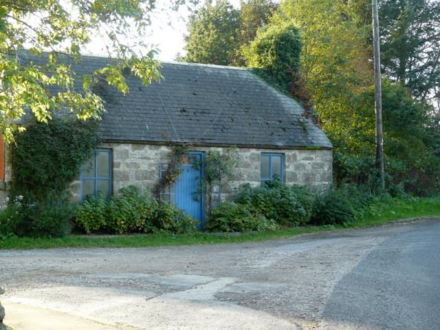 Old cottage, Strichen.