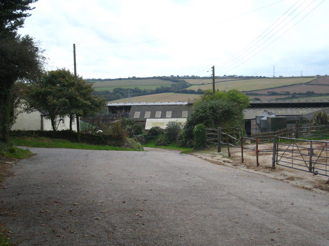Farm buildings at Killivose