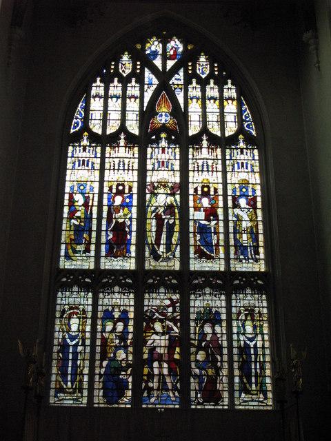 St. Cyprian's Church, Glentworth Street, NW1 - window in the chancel