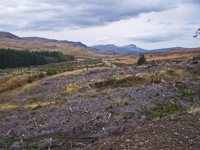 Glen Varragill, looking north