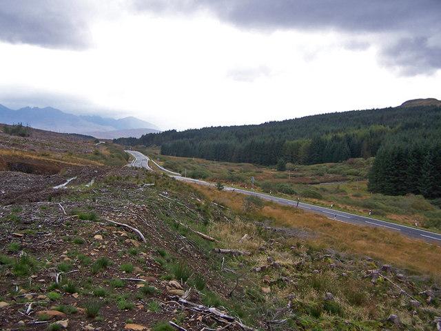 Glen Varragill, looking south