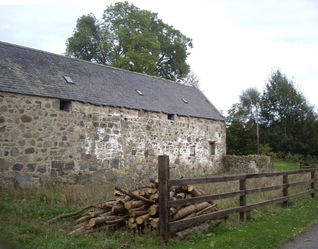 A steading at Burncruinach