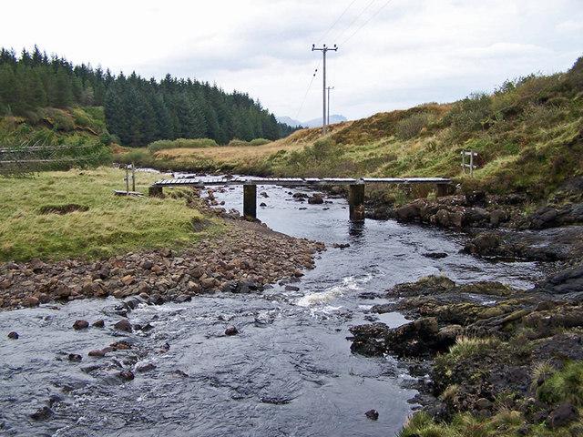 Footbridge over Varragill River