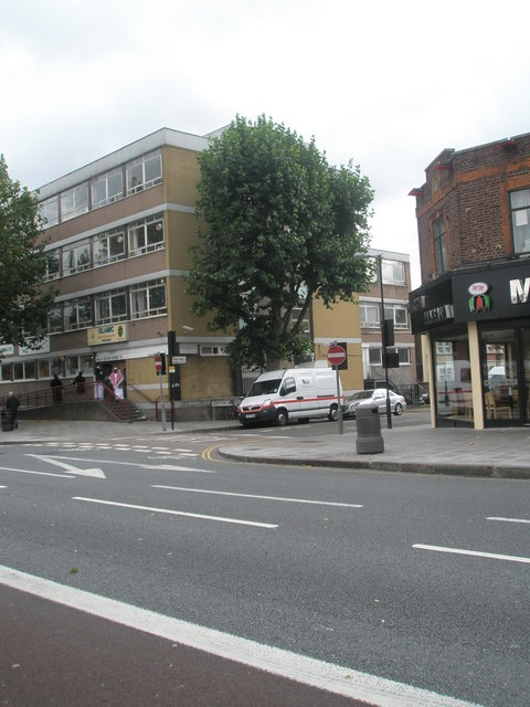 Junction of  West End Road and The Broadway