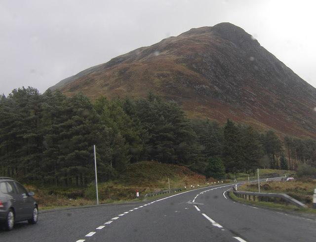 The A 82 near Altnafeadh