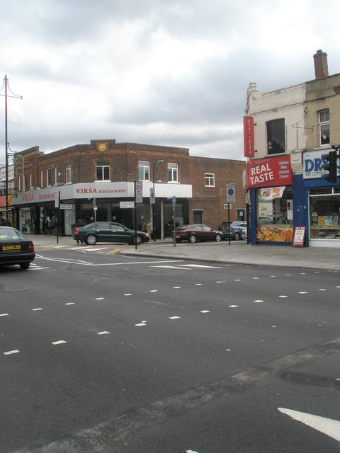 Junction of The Broadway and Trinity Road