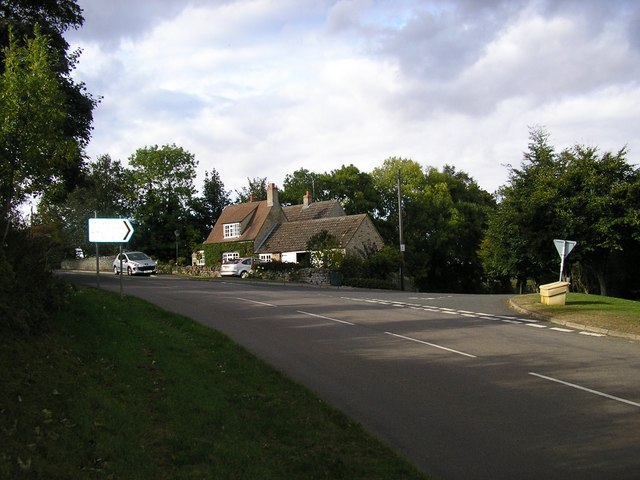 Jct. of Clipsham Road & Stocken Hall Road, Stretton