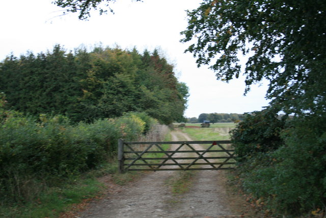 Restricted byway to Holwell