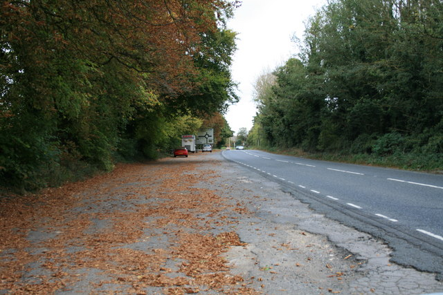 Lay-by on the A361