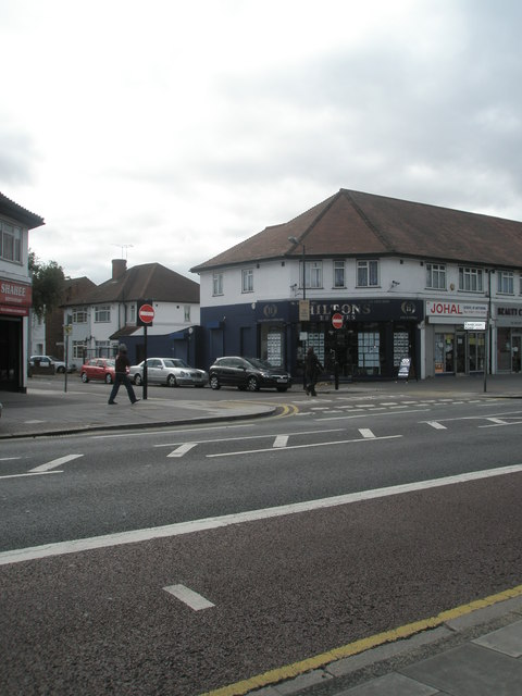 Junction of  Ranelagh Road and The Broadway