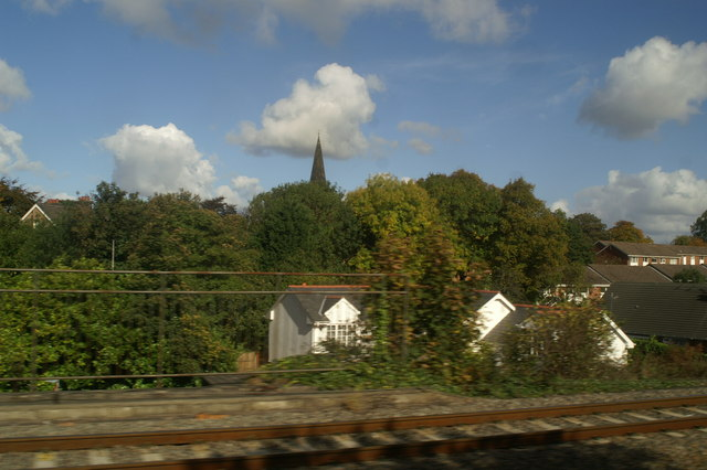 Huyton Junction, and beyond, as seen from the 12.01 from Newton-le-Willows.