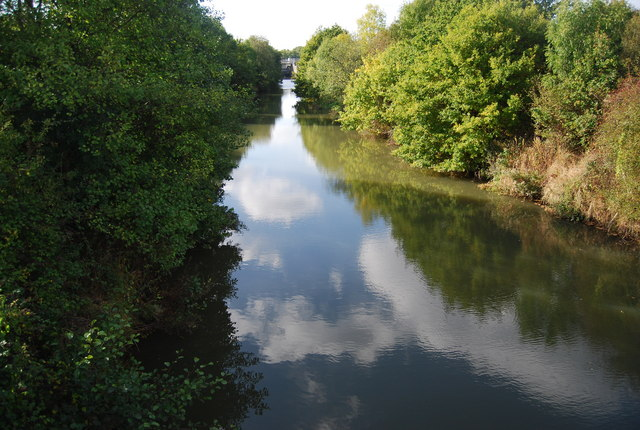 River Medway upstream from the Friendship Bridge