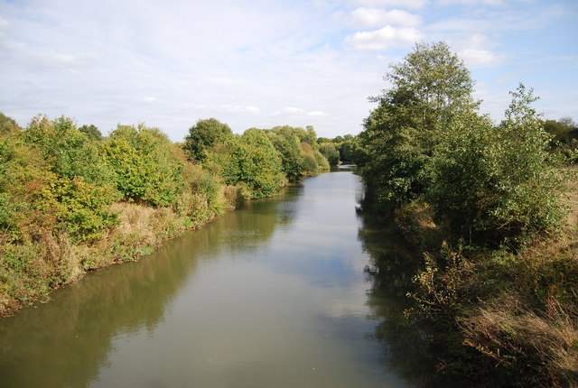 River Medway downstream from the Friendship Bridge