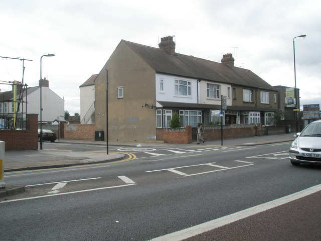Junction of Beresford Road and The Broadway