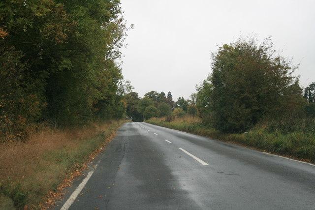 B4477 approaching Kencot