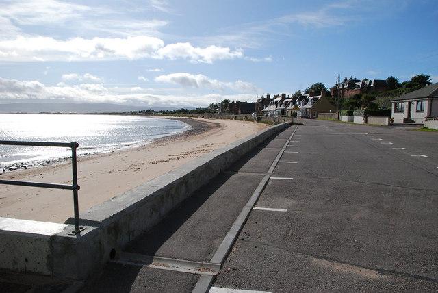 Rosemarkie sea front