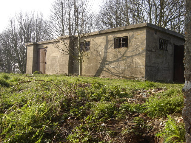 WW2 Radar Station at Barrow Common