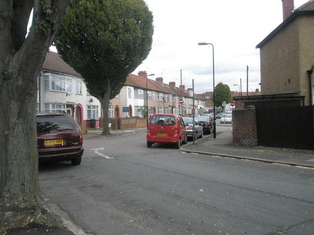 Bend in Alma Road