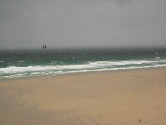 Stormy day on Watergate Beach