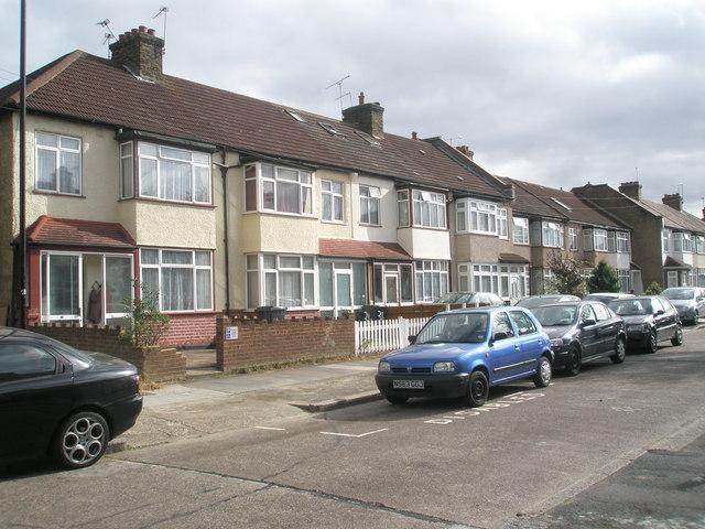 Houses in Stanley Road