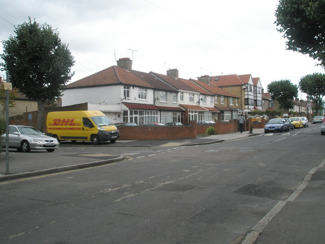 Junction of Cherry Avenue and Beaconsfield Road