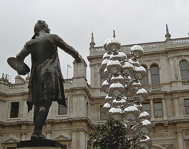 The courtyard of the Royal Academy
