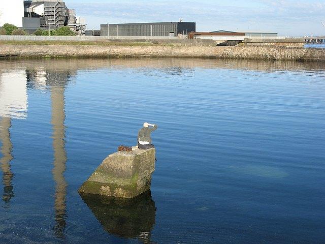 Sculpture, Cockenzie Harbour