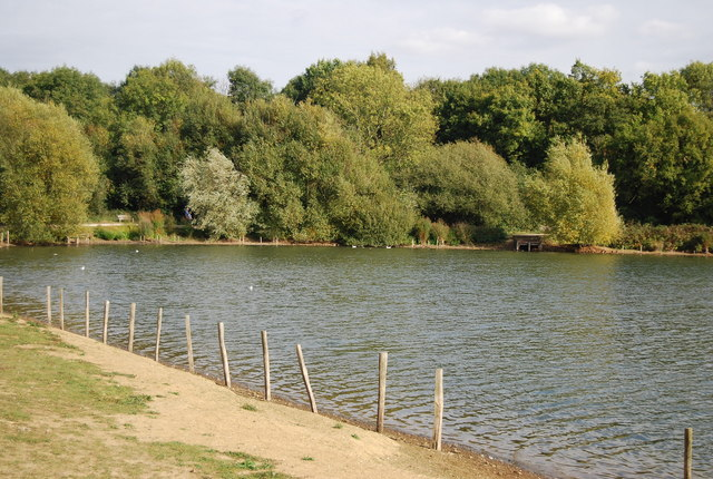 The end of Barden Lake