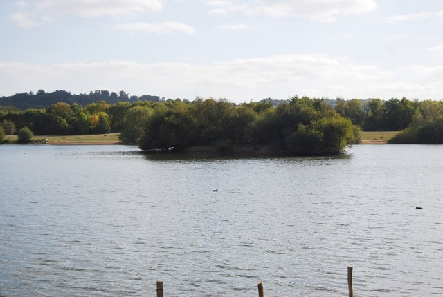 Island, Barden Lake, Haysden Country Park