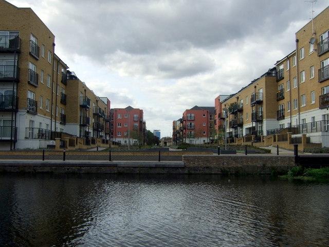 Canalside development